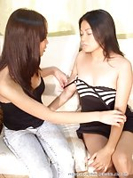 Kinky asian babes fun