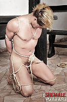 Dominant Shemales Whipping Male Slave