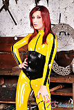 Super Latex Heroine Joy Spears