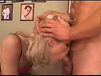 Tranny In Pink Lingerie Gets Screwed