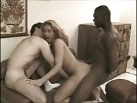 Interracial Anal Sex With A Nasty Tgirl