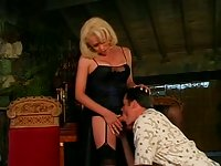 Amazing TS Gia gets her ass splitted