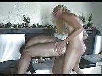 Crazy fucking with curly tranny