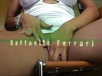 Tgirl Rafaella Ferrari screws black ass