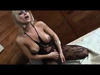 The lovely Carla Masturbates in lingerie