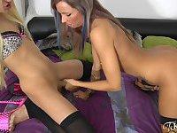 TS-Kimberly Fick mit Anni Angel
