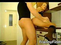 Amateur tranny fucks