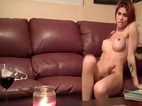 Tranny on the couch