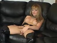 Daniele Foxx pleases herself