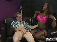 Enhanced tits ebony shemale hardcore sex