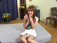 Teen ladyboy gets ramming on a floor