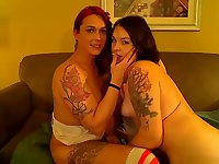Two beauties on webcam