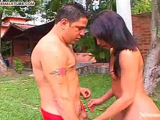 Latina Whores Love it Outdoors