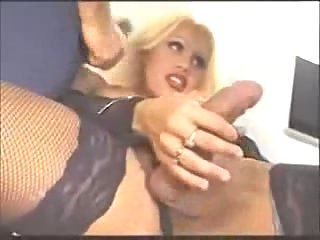 Doggy style sex with an amazing Tgirl