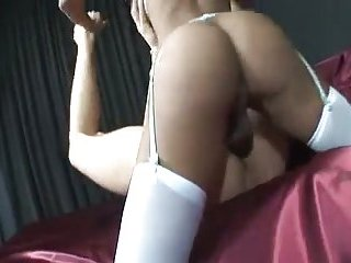 Tranny Nurse Treating Her Patient Hard