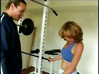 Hot Threesome At A Gym