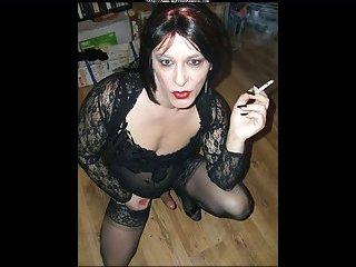 Mature Tranny Smoking Slideshow