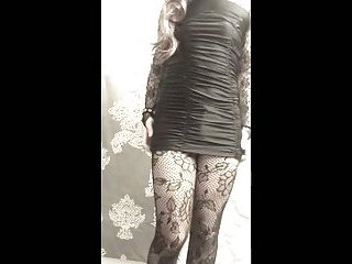Crossdresser hot tease