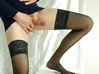Roben in Stockings